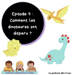 Comment ont disparu les dinosaures ?