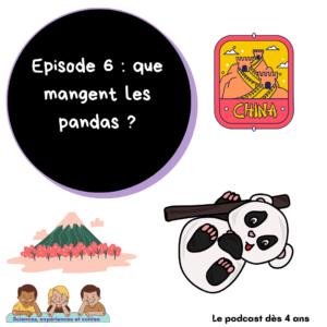 Que mangent les pandas ?