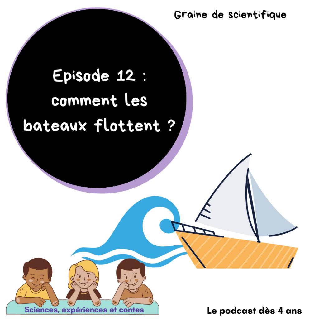 Comment les bateaux flottent ?