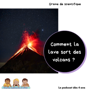 Comment la lave sort des volcans ?
