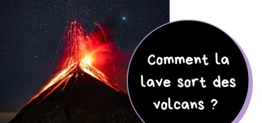 comment la lave sort des volcans